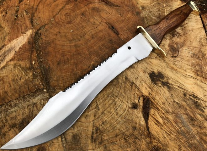 Bowie Knife with Sheath Big Hunting Knife - RNGR