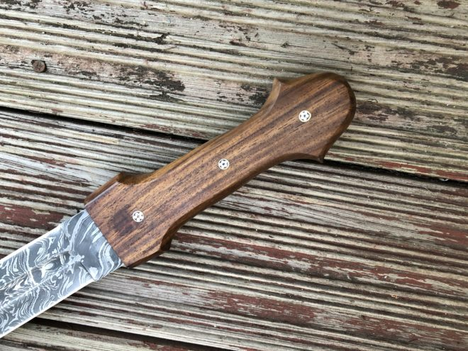24 Inches Fixed Blade Double Edge Hunting Knife