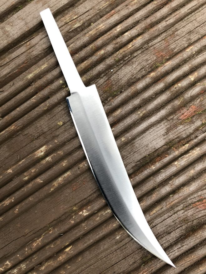 Stainless Carbon Steel Blade For Making Your Own Knife - BL70