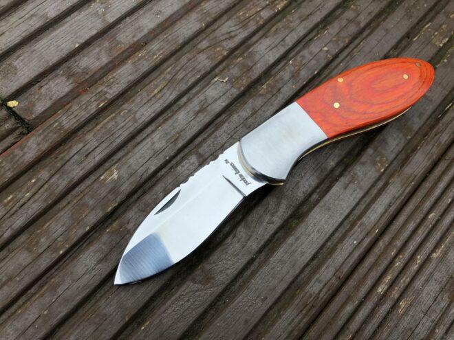 UK Legal Handmade Pocket knife with Micarta Handle