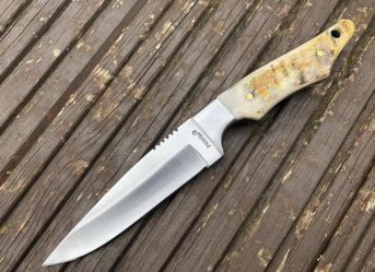 Perkin RM12 Handmade Hunting Knife with Sheath