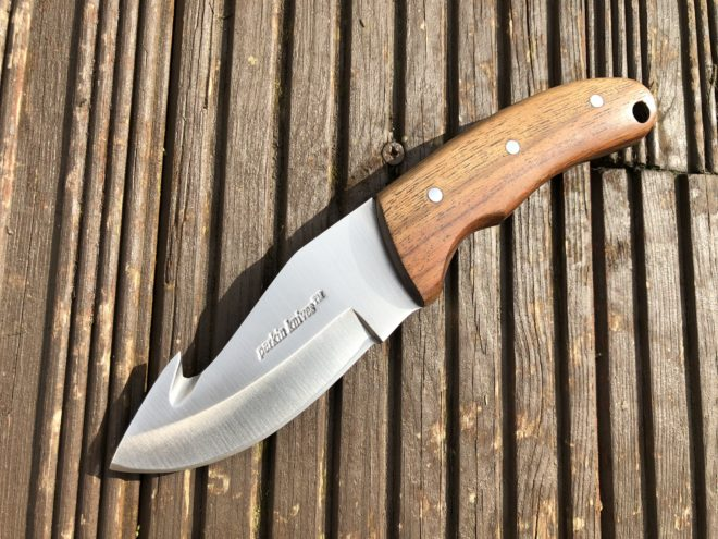Perkin Knives GT703 Hunting Knife with Gut Hook