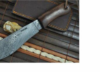 Damascus Machete Knives