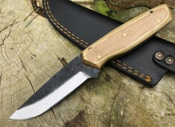 Perkin PK555 Hunting Knife with Sheath