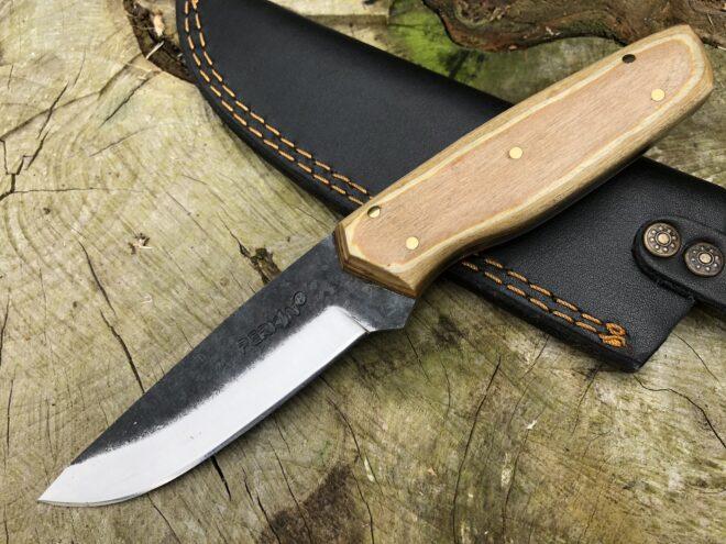Perkin PK555 Hunting Knife with Sheath