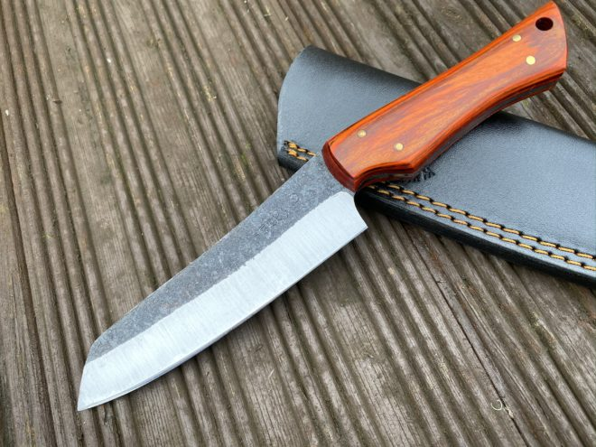Hunting Knife with Sheath 1095 Steel PK2700