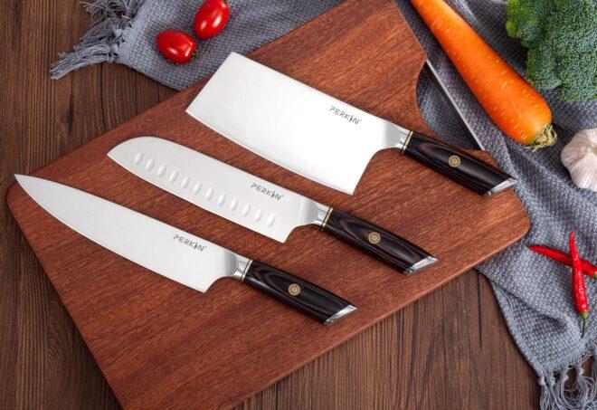 Chef Knife Set Kitchen Knives Set With Block Kitchen Knife Magnetic Holder