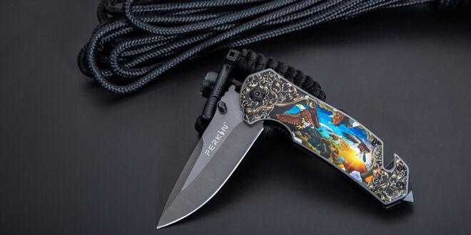 Perkin Knives Pocket Knife Folding Knife Tactical PKF1014-A