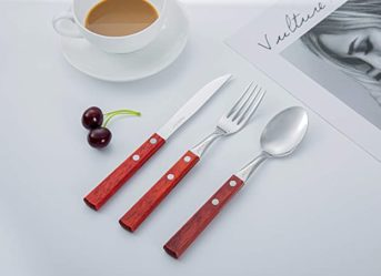 Perkin Tableware Cutlery Set 3Pcs (Red)