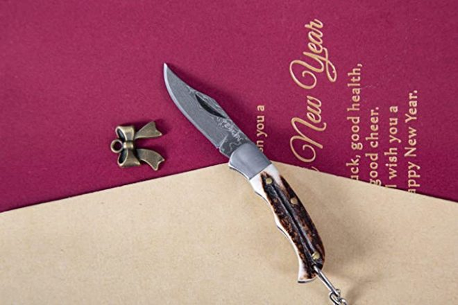 Pocket knife UK Legal, Foldable and Non- Locking Legal to Carry - STF19