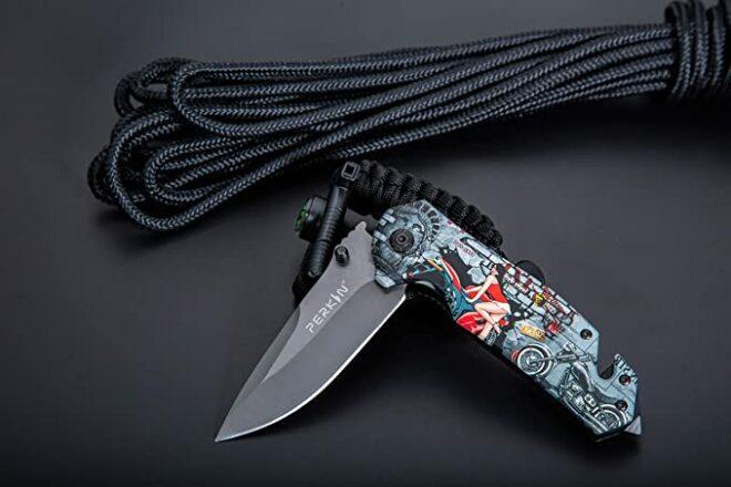 Perkin Knives Pocket Knife Folding Knife Tactical PKF1014