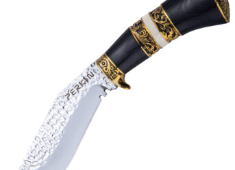 Perkin Fixed Blade Hunting Knife with Sheath Kukri Knife PSL2026